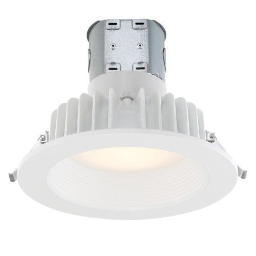 White 13W 3000K 895 Lumen LED Recessed Light
