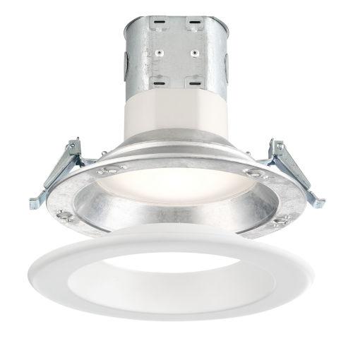 White 12W 3500K 870 Lumen LED Recessed Light