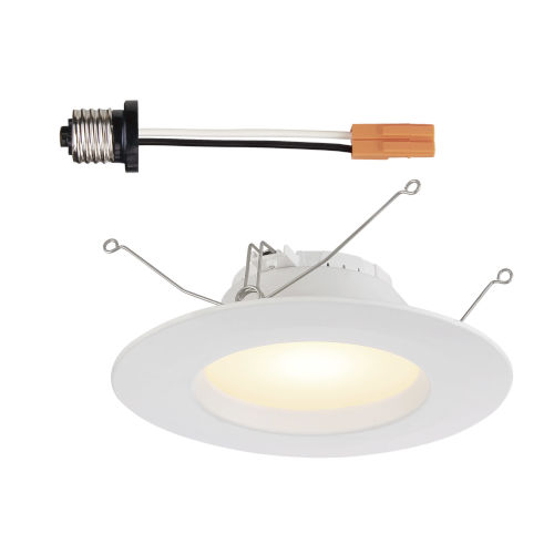 White Eight-Inch 10W 5000K 700 Lumen LED Recessed Light
