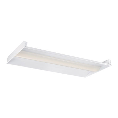 White 48-Inch LED Troffer Light