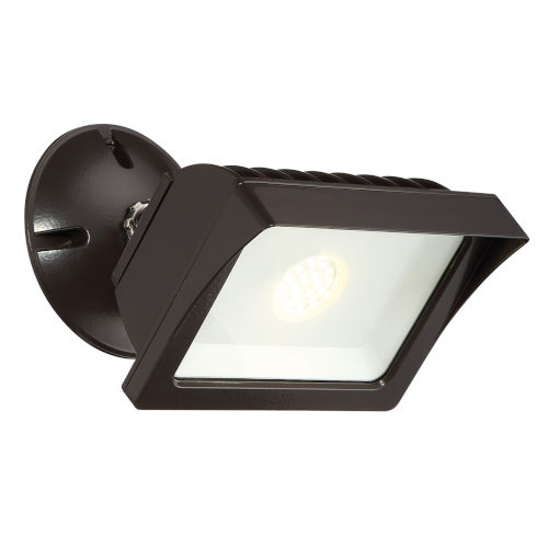 Bronze LED Outdoor Adjustable Flood Light