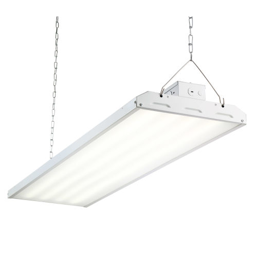 White 48-Inch 223W LED High Bay Hanging Light