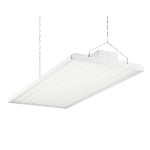 White 48-Inch 420W LED High Bay Hanging Light
