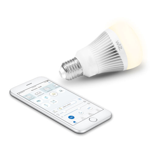 60-Watt Equivalent A19 Tunable White Wi-Fi Connected Smart LED Light Bulb