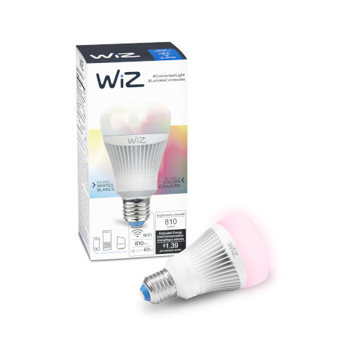 60-Watt Equivalent A19 Colors and Tunable White Wi-Fi Connected Smart LED Light Bulb