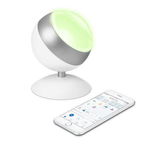 Quest LED Projector Lamp Matte White