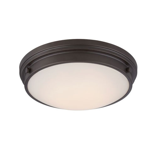 Designers Fountain Galley Oil Rubbed Bronze Energy Star LED Flush Mount