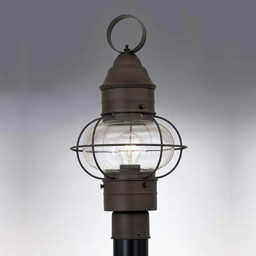 Nantucket Rustique One-Light Outdoor Post Mounted Light