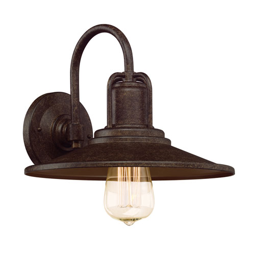Designers Fountain Cooper Venetian Bronze One-Light Outdoor Wall Lantern