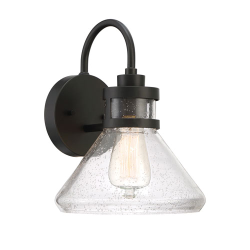 Designers Fountain Creslee Oil Rubbed Bronze One-Light Outdoor Wall Lantern