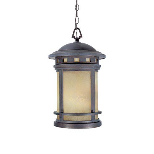 Designers Fountain Sedona Mediterranean Patina Three-Light Outdoor Pendant