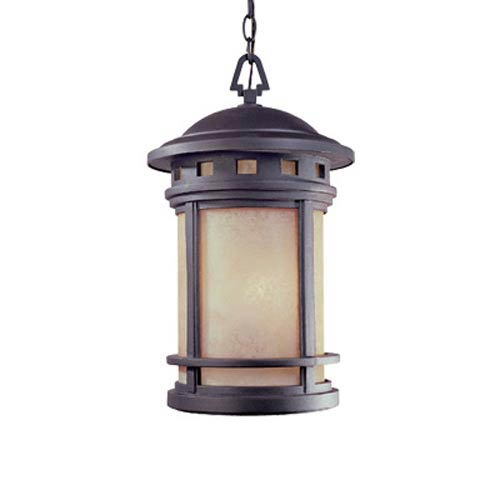 Sedona Oil Rubbed Bronze Three-Light Outdoor Pendant