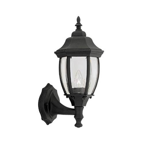 Tiverton Black One-Light Outdoor Wall Lantern