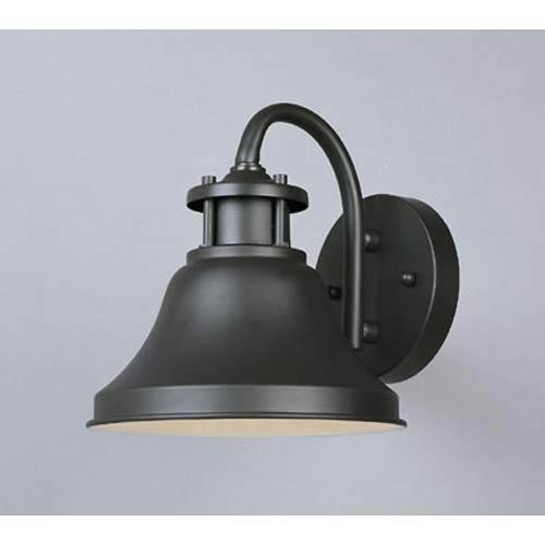 Bayport Small Bronze One-Light Outdoor Wall Light