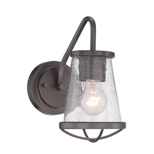 Darby Weathered Iron One-Light Wall Sconce