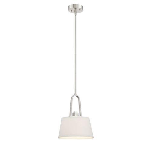 Studio Satin Platinum One-Light Mini Pendant