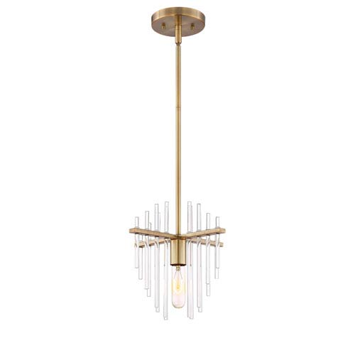 Reeve Burnished Antique Brass One-Light Pendant