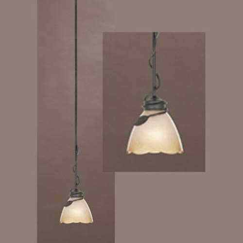 Timberline Old Bronze One-Light Pendant