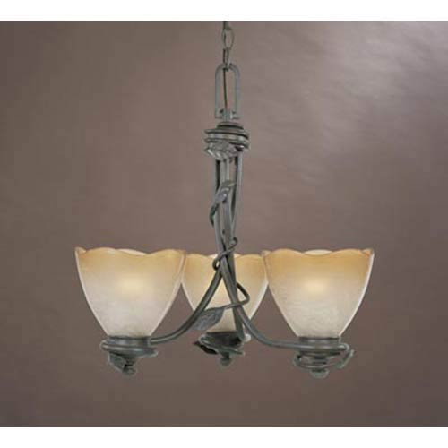 Timberline Old Bronze Three-Light Chandelier