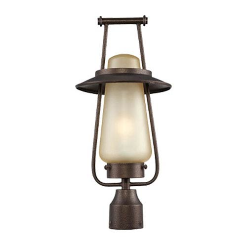 Designers Fountain Stonyridge Flemish Bronze One-Light Post Lantern