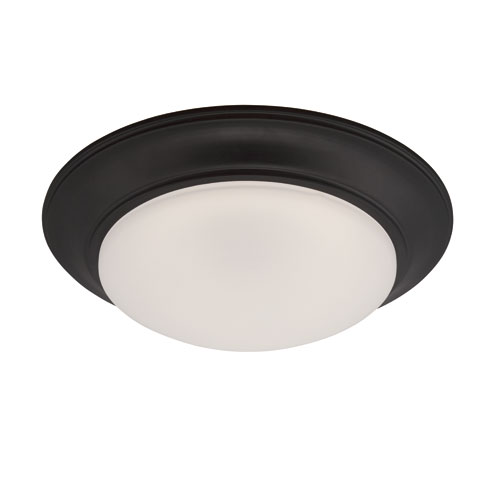 Designers Fountain Halo Oil Rubbed Bronze LED One-Light Flush Mount