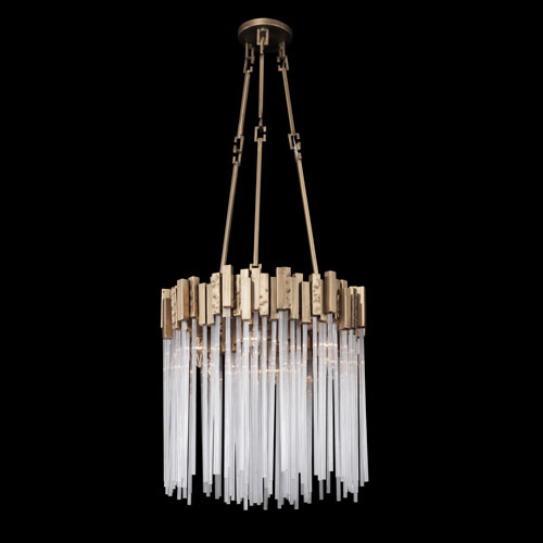 Matrix Havana Gold 18-Inch Six-Light Pendant