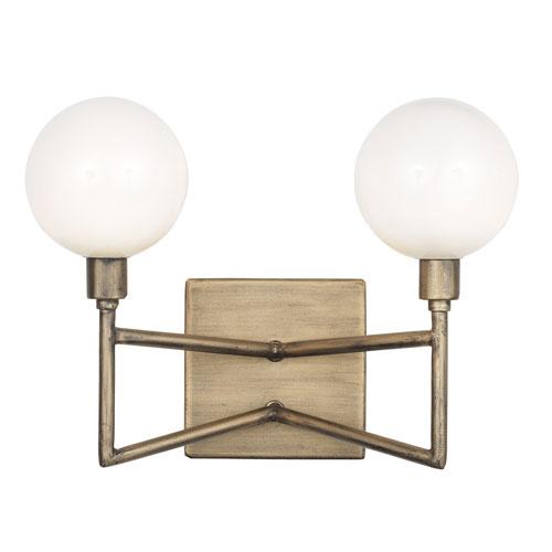 Bodie Havana Gold Two-Light LED Bath Vanity