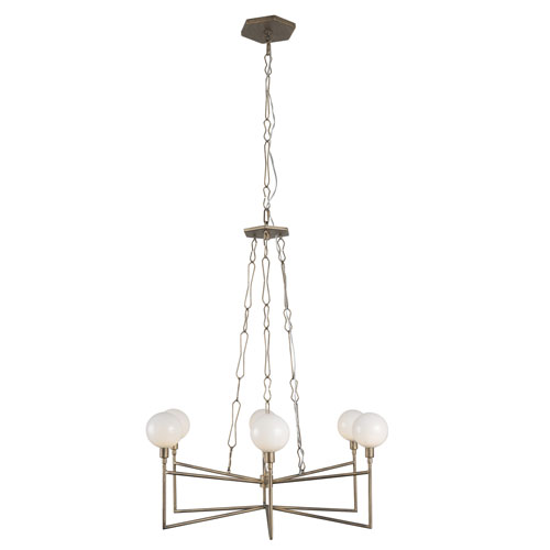 Bodie Havana Gold Six-Light LED Chandelier