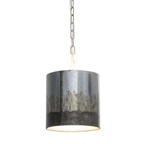 Cannery Ombre Galvanized One-Light Pendant