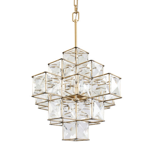 Cubic Calypso Gold Six-Light Pendant