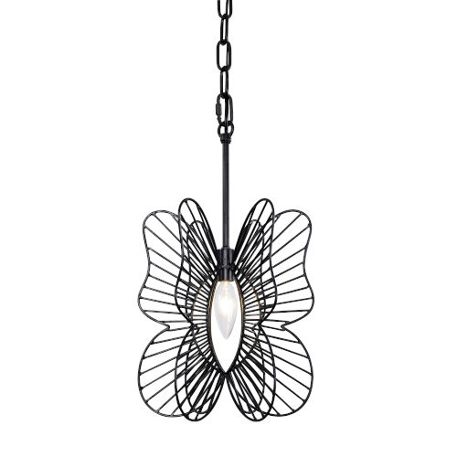 Monarch Black One-Light Mini Pendant
