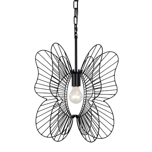 Monarch Black One-Light Pendant
