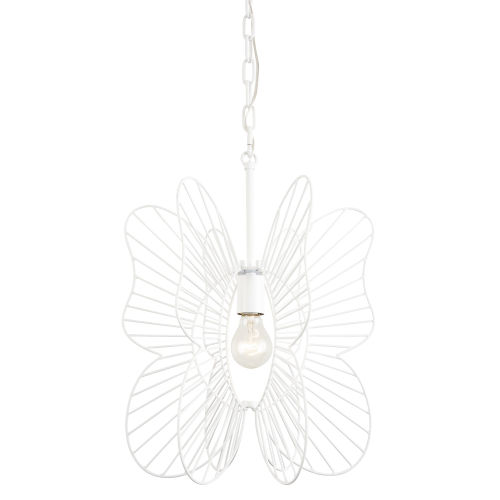 Monarch White One-Light Pendant