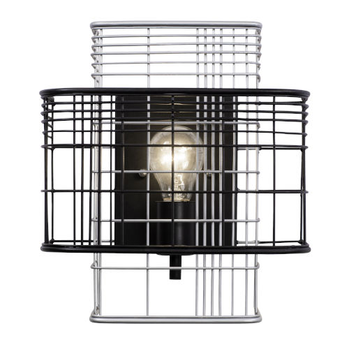 Vivienne Black and Gray One-Light Sconce