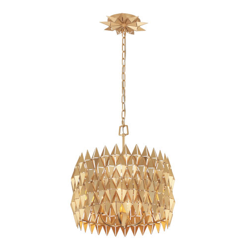 Forever French Gold Four-Light Pendant