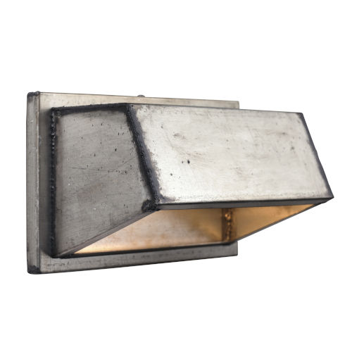 Galvanic Ombre Galvanized One-Light Wall Sconce