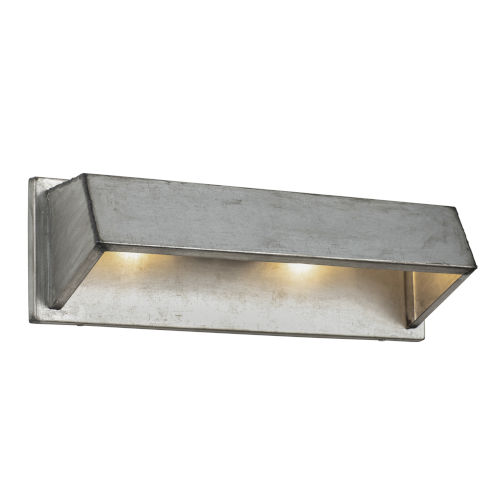 Galvanic Ombre Galvanized Two-Light Wall Sconce