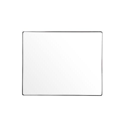 Casa Polished Nickel Rectangular Wall Mirror