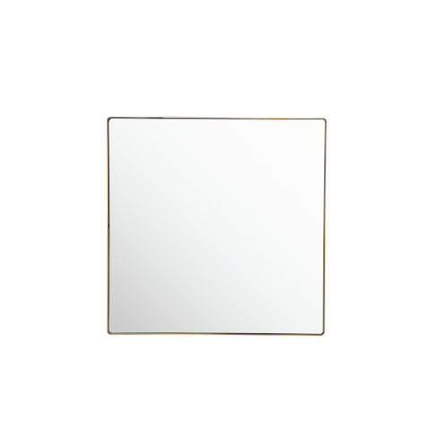 Kye Gold 30 x 30 Inch Square Wall Mirror