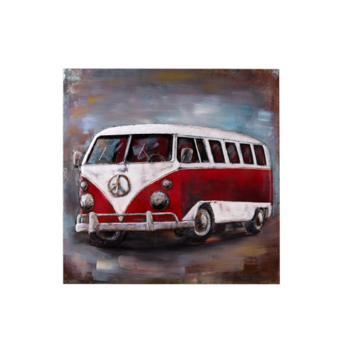 Retrograde Vanagon Wall Art