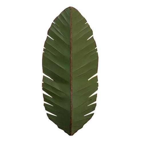 Banana Leaf Green Three-Light Wall Sconce