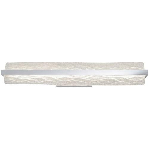 Waveform Polished Chrome 33-Inch One-Light LED Bath Vanity