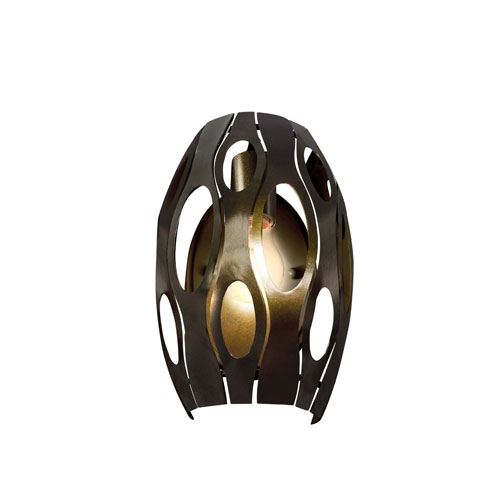 Masquerade Statue Garden Single-Light Wall Sconce