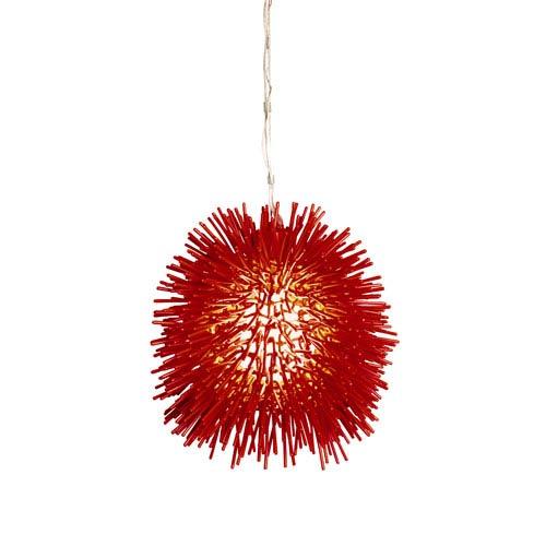 Urchin Red Mini Pendant