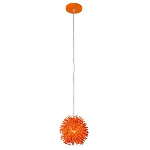 Urchin Electric Pumpkin One Light Uber Mini Pendant