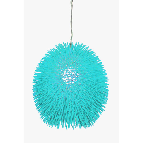 Urchin Aqua Pendant
