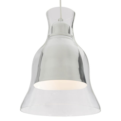 Spinners Chrome One-Light 12-Inch  Pendant