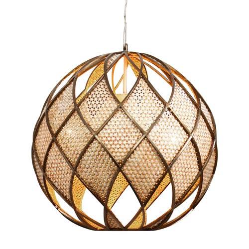 Varaluz Argyle New Bronze Four-Light Pendant