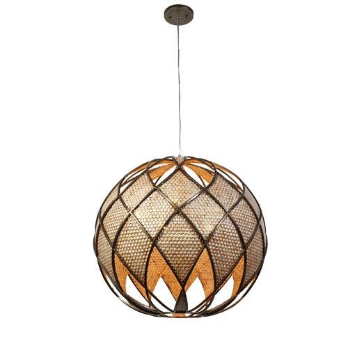 Varaluz Argyle New Bronze Five-Light Pendant
