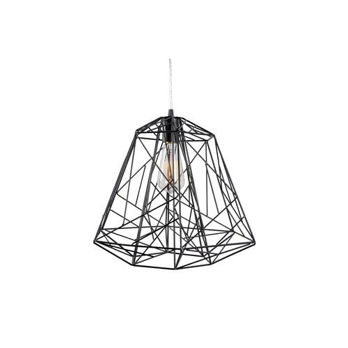 Varaluz Wright Stuff Black One-Light Pendant